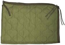 Poncho Liner Olive Drab US Military Woobie Mil Spec GI Style with Bag Army USMC