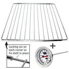 Adjustable Extendable Grill Shelf for BRITANNIA Oven Cooker + Food Probe