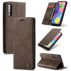 For Samsung Galaxy A20 A21S A30 A50 A51 A70 Wallet Leather Case Flip Cover
