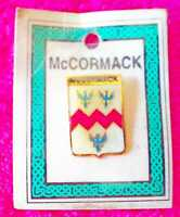 McCormack Coat of Arms Badge