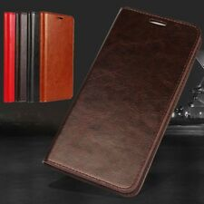 New Genuine Real Leather Phone Case Cover Wallet Flip For Smart Phone