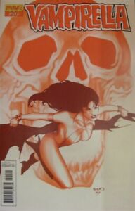 VAMPIRELLA 20 VOL.1 DYNAMITE RI BLOOD RED VARIANT COMIC RENAUD TRAUTMANN 2012 NM