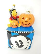 NOB Disney Store Winnie the Pooh With Bumblebee Outfit Halloween Pumpkin