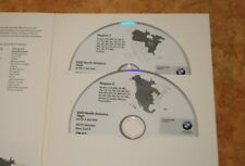 NEW LATEST BMW Navigation Map Updates 2 Disc DVD Set HIGH East & West .