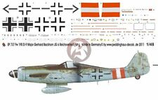"Peddinghaus 1/48 Fw 190 D-9 ""Christl"" Markings Gerhard Barkhorn JG 6 Sorau 737"