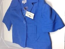 M&S Limited Collection Cornflower Single Button Jacket Size 10 NEW RRP £49.50