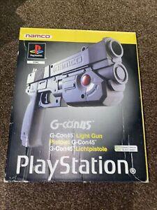 Playstation Namco G-Con45 Light Gun boxed -