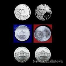 2017 P+D+S+S Jefferson Proof Nickel and Enhanced Nickel Mint Proof Set ~ BU/MW