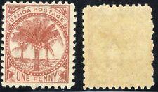 1896 Samoa Palms🌴Postage Stamp SC 12 A2 MNH OG