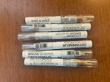 WET N WILD COLORICON BROW SHAPER 631 A CLEAR CONSCIENCE. LOT OF 6