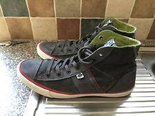 Superdry Canvas Trainers High Top Mens Size 12 Worn Once Designer Shoes
