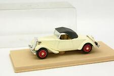 Eligor 1/43 - Citroen Traction Cabriolet Blanche