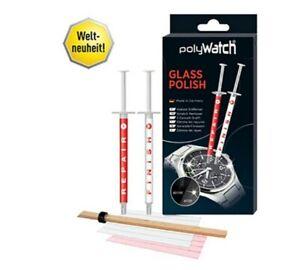 PolyWatch Glass Polish - HighTech Kratzer Entferner für Glas - Ideal für Uhren