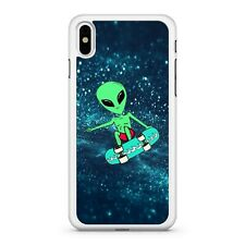 Skateboarding Extraterrestrial Outer Space Alien Colourful Phone Case Cover