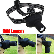 1000Lumens 3-Mode CREE Q5 LED Headlamp Headlight Super Bright Head Torch Lamp UK
