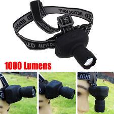 1000Lumens 3-Mode Q5 LED Headlamp Headlight Super Bright Head Torch Lamp UK