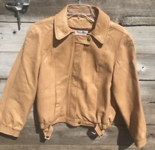 Vintage Skin Gear 100% Leather Bomber Coat/Jacket