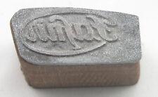 FAFNIR   LOGO schöner Oldtimer Stempel / Siegel aus Metall