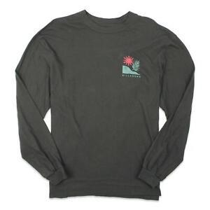 Billabong Womens Graphic Long Sleeve T-Shirt Black M New