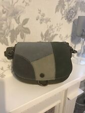 Beautiful Khaki Green Shoulder bag With Two Changeable Straps BRAND NEW
