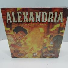 Alexandria A Library in Cinders Board Game ludicreations deluxe edition
