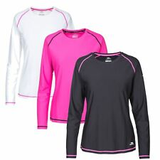 Trespass Hasting Women Long Sleeve Top Active Reflective Jumper Running Workout