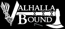 VIKINGS STICKER VALHALLA BOUND ASATRU STICKER