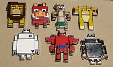 Disney Pin 2019 Hidden Mickey 8-Bit Pixel Characters Complete Set of 7 FREE SHIP