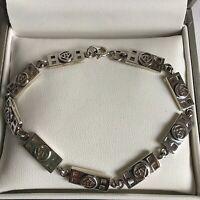 Vintage Sterling Silver Rennie Mackintosh Glasgow Rose Bracelet Kit Heath 11g