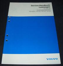 Werkstatthandbuch Volvo LKW Lastwagen Kraftstoffanlage EDC TD122FS TD103 TD123!