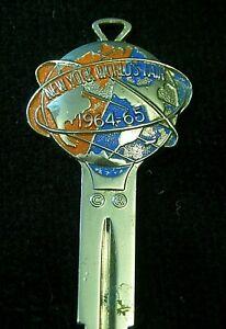 NASH WILLYS HUDSON AMC 1964 New York Worlds Fair CREST KEY fits MOST models!