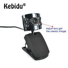 Kebidu 30.0 méga Pixel caméra Webcam 6 lumière LED gradateur 30M HD USB 2.0 Web
