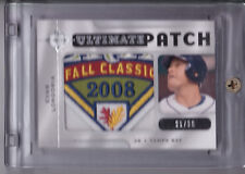 2009 ULTIMATE COLLECTION EVAN LONGORIA WORLD SERIES LOGO PATCH #21/35