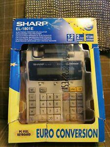 Sharp EL-1901E electronic Printing Calculator