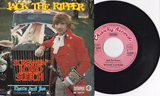 "Screamin' / Screaming Lord Sutch - Jack The Ripper 7"" Scarce 1976 GERMANY PRESS"