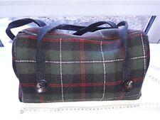 Womens Tartan handbag - handmade medium