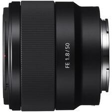 Sony Fe 50mm F1.8 Full-frame Prime E-Mount Lens - Sel50F18F