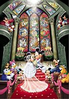 Disney Jigsaw Puzzle Mickey Mouse Wedding 1000 Pieces F/S w/Tracking# Japan New