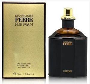 Gianfranco FERRE For MAN Cologne  2.5oz-75ml EDT Spray DISCONTINUED - RARE (BA34