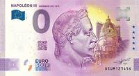 BILLET 0  EURO NAPOLEON III EMPREUR    2021 NUMERO DIVERS