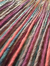 30x CUSTOM HANDMADE SYNTHETIC DREADLOCKS DREADS VARIOUS COLOURS