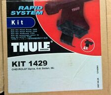 Chevrolet Epica 2006 Onwards Thule Roof rack Rapid fitting kit 1429