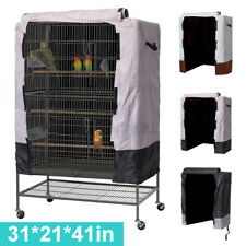 Large Bird Cage Cover Universal Parrot Cage Protector Cloth Cover 31''x21''x41''