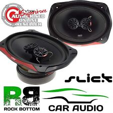"Vibe SLICK693-V7 960 Watts Pair 3 Way 6""x9"" Car & Van Rear Shelf Parcel Speakers"