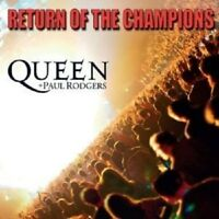 QUEEN & PAUL RODGERS - RETURN OF THE CHAMPIONS 2 CD 17 TRACKS++++++++ NEU