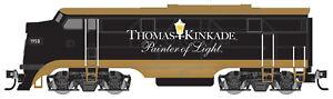 Micro-Trains MTL N-Scale EMD FT-A Locomotive Thomas Kinkade Painter of Light