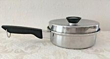 Vtg Ward's Signature Prestige 18-8 Tri-Ply Stainless Steel 1 Qt Sauce Pan & Lid