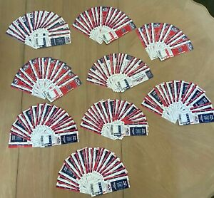 LOT of 140 - OAKLAND A's & NEW YORK YANKEES 2012 ALDS NLCS FULL TICKETS @ TIGERS