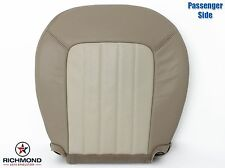 2002-2005 Mercury Mountaineer-PASSENGER Side Bottom Leather Seat Cover 2Tone Tan