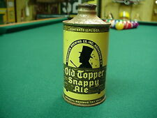 Old Topper Snappy Ale Cone Top Beer Can